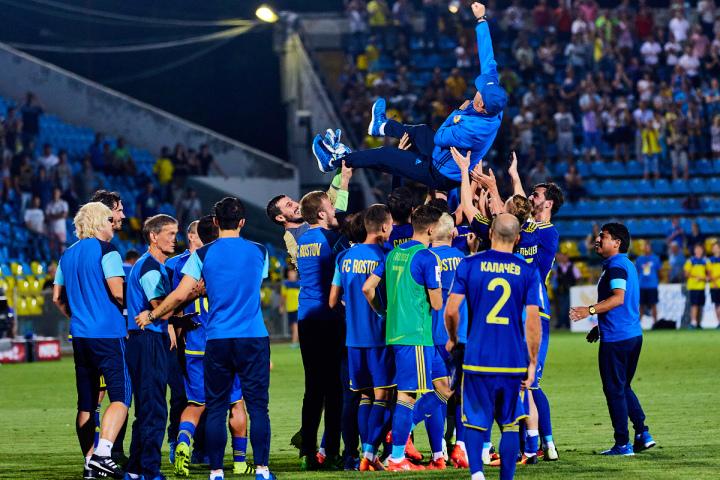 ФК «Рубин» победил впервом матче после возвращения Бердыева