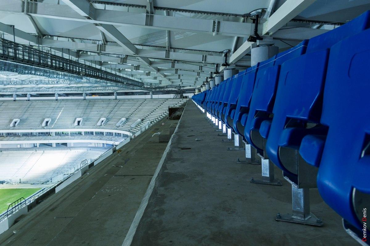 Общая готовность стадиона «Ростов-Арена» оценивается в85%
